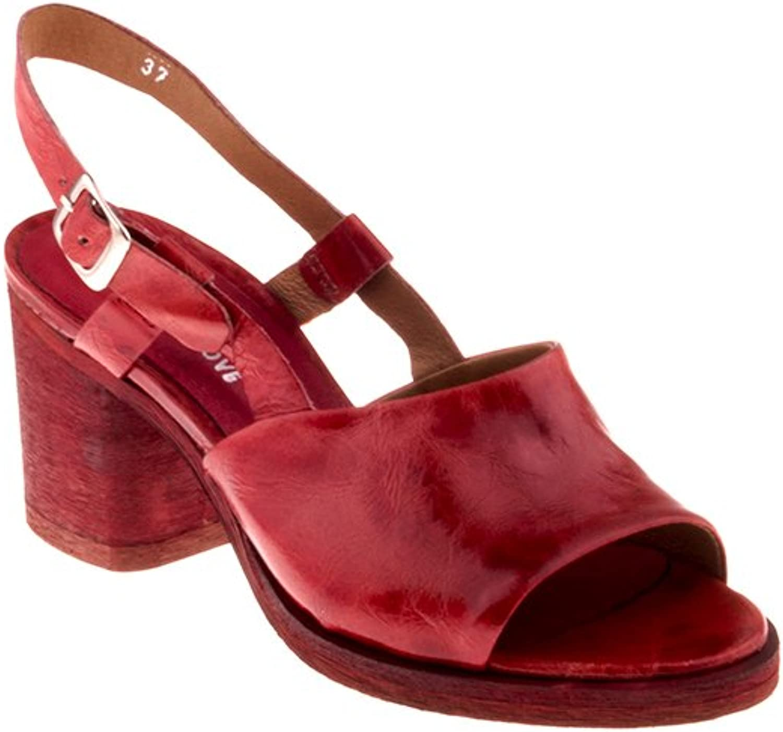 Felmini Damen Schuhe - Verlieben Ferrer B122 - Sandalen - Echtes Leder - Rot