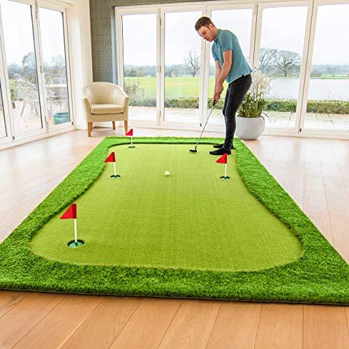 FORB Professional Putting Mats | Golf Accessories | Putting Practice Golf Mat | Indoor Putting Green | Putting Mats Indoor | Three (Standard, XL & XXL)