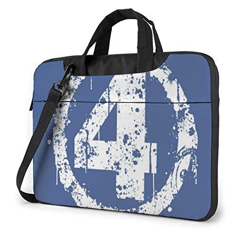 Number 4 Laptop Bag 15.6 Inch Shoulder Messenger Bag Computer Tote Briefcase for Work School