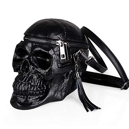Totenkopf Handtasche Damen | Die perfekte Gothic Tasche für Punk Rock oder als Bag Skull