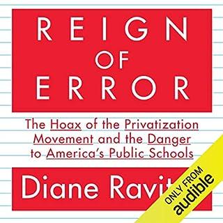 Reign of Error audiobook cover art