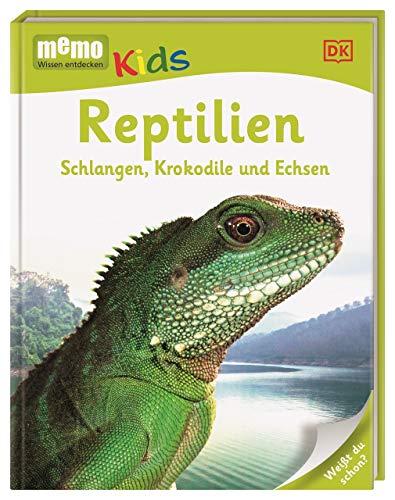 memo Kids. Reptilien: Schlangen, Krokodile und Echsen