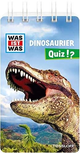 WAS IST WAS Quiz Dinosaurier: Über 100 Fragen und Antworten! Mit Spielanleitung und Punktewertung (WAS IST WAS Quizblöcke)