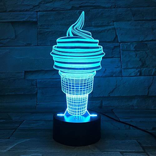 EIS Farbwechsel nachtlicht tischlampe, Schlafzimmer Schlaf licht, Dekoration, Art Deco, Kinder Geschenk,