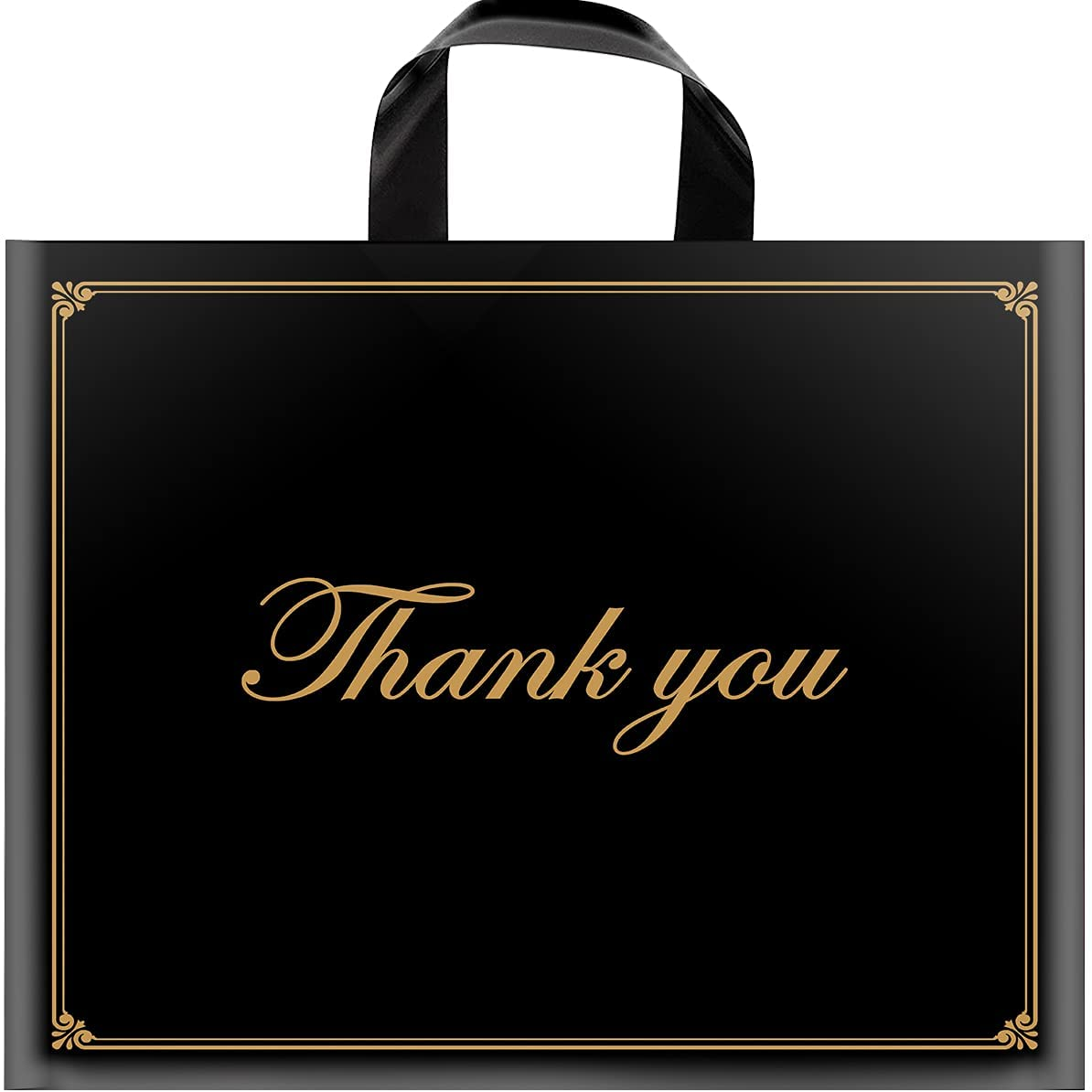 Thank You depot Bags High quality Shopping 50 Pack Bulk Thick Extra M 16