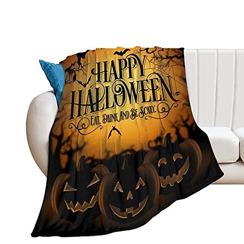 Wohndecke Fröhliche Halloween-Landschaft Tagesdecke Oder Wohnzimmerdecke 40