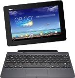 Asus New Transformer Pad TF701T 25,7 cm (10,1 Zoll) Convertible Tablet-PC (Nvidia Tegra 4, 1,9 GHz, 2GB RAM, 32 GB eMMC, NVIDIA 72 Core, Touchscreen, Android 4.2, WQXGA Auflösung ( 2560x1600 ) IPS Bildschirm) inkl. KeyDock grau