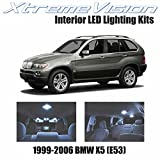 Xtremevision Interior LED for BMW X5 (E53) 1999-2006 (16 Pieces) Cool White Interior LED Kit + Installation Tool