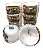 Brew Rite 4 Cup Coffee Basket Disposable Filters - 400 Ct - 4 Packs