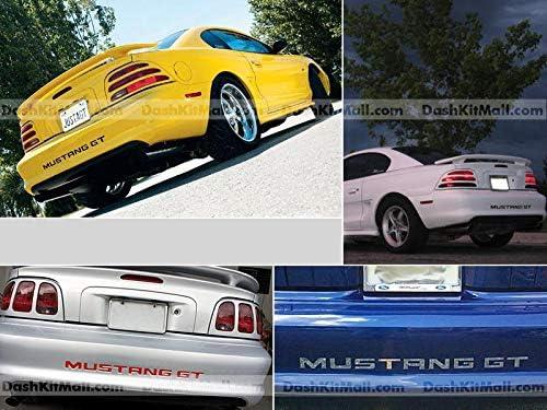 Mustang gt decals