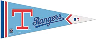 Bek Brands Baseball Teams Special Edition Flag Banner Pennant, 12 x 30 in, Cooperstown (Texas Rangers)