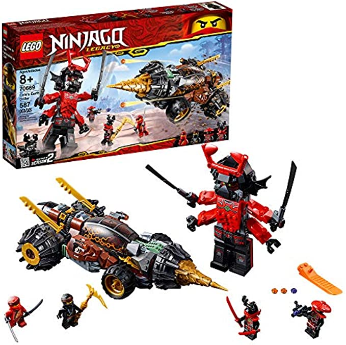 LEGO Ninjago 70669 Legacy Cole's Earth Driller