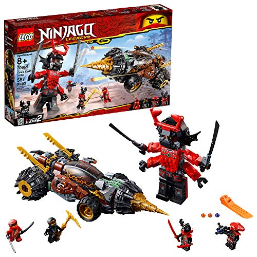 LEGO NINJAGO Legacy Cole's Earth Driller 70669 Building Kit (587 Pieces) (Discontinued by Manufacturer)
