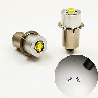 P13.5S 3W 4-12V / 6-24V 200LM Cree LED Lámpara de Actualización para Bombillas de Reemplazo Kit Conversión de Linternas Maglite Linterna Linterna de Trabajo Luz Herramienta, 1pcs, 6-24V