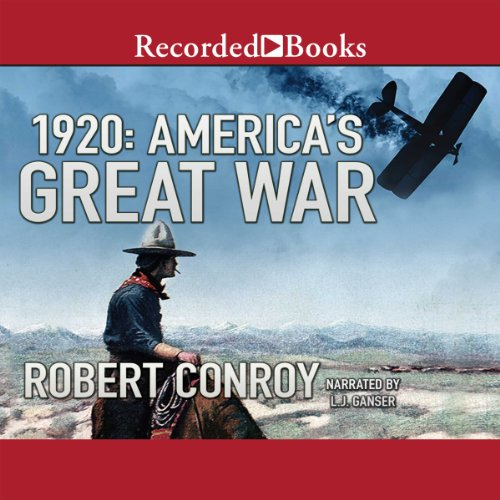 1920: America's Great War audiobook cover art