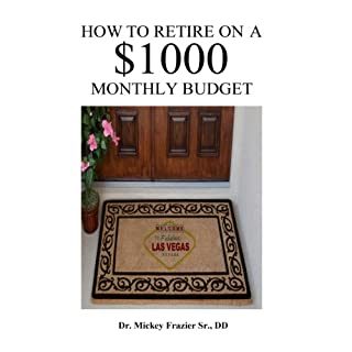 How to Retire on a $1000 Monthly Budget audiobook cover art