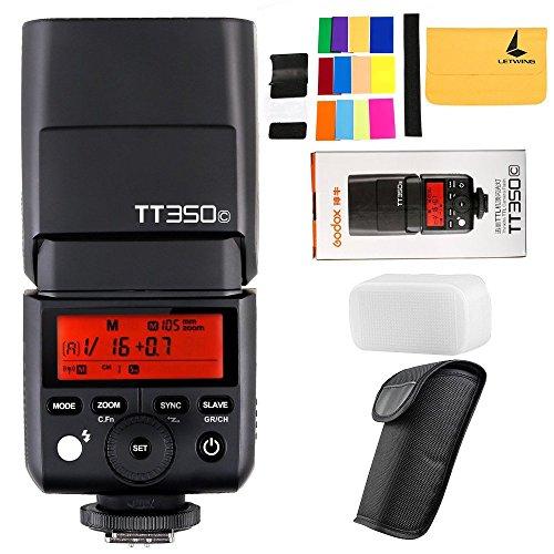 GODOX TT350C 2.4G HSS 1 / 8000s TTL GN36 Kamera Speedlite für Canon Mirrorless Digital