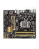SIJI Placa Base de computadora Apta para ASUS B85M-E DDR3 USB3.0 Placa Base Adecuada para I3 I5 I7 CPU LGA 1150 USB2.0 32GB B85 Placa Base de Escritorio