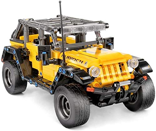 supermalls Technic Jeep, 601Pcs Technic Off Road Car Model Building Kits Building Blocks Technic Compatible with Lego