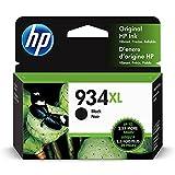 HP 934XL   Ink Cartridge   Black   Works with HP OfficeJet 6800 series, HP...