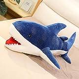 抱き枕 ぬいぐるみ 北欧 大きい 105cm うつぶせ枕 妊婦 枕 ロング 動物 アニマル ブルー ねこ 可愛い あったか かわいい ギフト 子供 女性 誕生日 プレゼント 癒し 贈り物 ゴリラ ワンコ 柴サメ 鮫 パンダ もこもこ ふわもこ