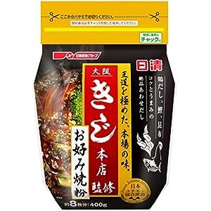 日清 大阪きじ本店監修 お好み焼粉 400g×3個