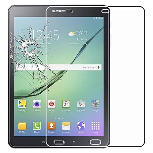 ebestStar - kompatibel mit Samsung Galaxy Tab S2 9.7 Panzerglas SM-T813, T815 T810 Schutzfolie Glas, Schutzglas Displayschutz, Displayschutzfolie 9H gehärtes Glas [Tab: 237.3 x 169 x 5.6mm, 9.7'']