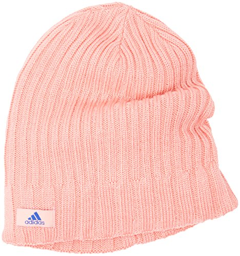 adidas W ESS Beanie - Gorro para Mujer, Color Rosa/Azul, Talla OSFW