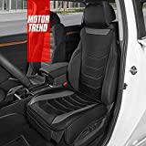 Motor Trend LuxeFit Gray Faux Leather...