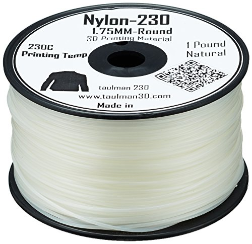 Taulman 10663 Print Filament, Nylon 230, 450 g, 1.75 mm