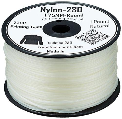 Taulman - Filamento de impresión 3D (nailon, 230-1,75 mm - 450 g)