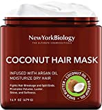 Coconut Hair Mask for Hair Growth and Volume - Infused with Argan Oil - Moisturizing and Deep...