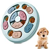 CFTGET Dog Puzzle Toys Puppy, Interactive Dog Puzzle Game Toy, Treat Dispenser for Dogs Training Funny Feeding, ABS Colorful Design Slow Feeder to Aid Pets Digestion