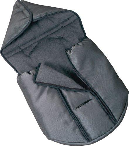 Storchenmühle 3600.1065.00 - Fußsack für Babyschale Maximum SP, Farbe schwarz