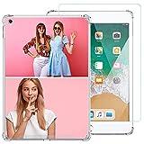 Coque personnalisée compatible avec iPad Air iPad 5e génération 9,7' 2017, coque personnalisée...