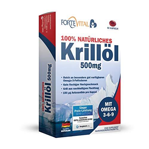ForteVital Krillöl Bundle (60 Kapseln)