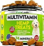 Dog Hemp Multivitamin Treats - Essential Dog Vitamins for Hip & Joint...