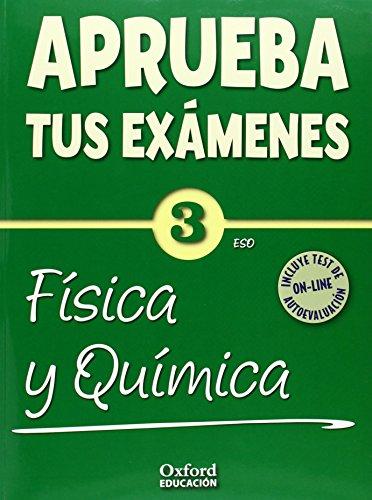 Aprueba tus Exámenes: Física y Química 3º ESO Cuaderno Test 14 - 9788467384468