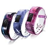 Bracelet de rechange petite taille pour montre intelligente compatible avec garmin Vivofit JR avec fermoir sécurisé (montre...