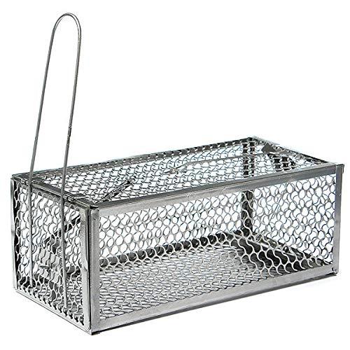 YALIXING Productos domésticos Humane Mouse Cage Mouse Trap High Sensitivity Rata Control Catcher Trap Pest Live Animal Trap Necesidades prácticas diarias para su conveniencia