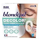 Blondépil - Decolor' Sans Ammoniaque Gel Decolorant Visage 50Ml - Lot De 3 - Prix Du Lot - Livraison Rapide En France Métropolitaine Sous 3 Jours Ouverts