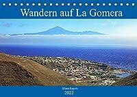 Wandern auf La Gomera (Tischkalender 2022 DIN A5 quer): Abwechslungsreiche Wanderwege in faszinierender Umgebung (Monatskalender, 14 Seiten )