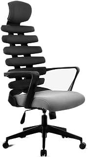 Sillas de espina de pescado Silla de oficina Silla giratoria Ingeniería Escritorio Juego silla de la computadora Silla ergonómica clínica de reposo de la cintura for sillas de juego Spine