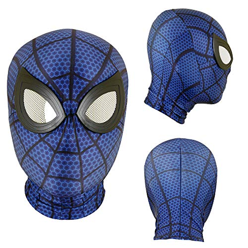 Halloween Mask Superhero Spider Masks Cosplay Costumes Mask Spandex Fabric Material (Adult mask, 06)