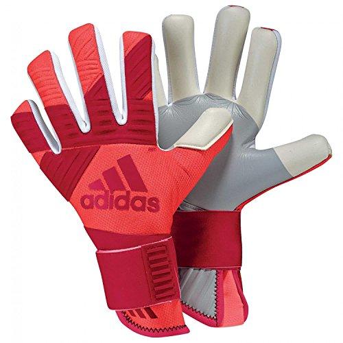 adidas - Guantes de Portero Unisex Ace Next Generation, Unisex, Color Bold Red/Black, tamaño 11,5