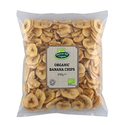 Chips de plátano orgánico 500g de Hatton Hill Organic