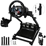 Ukiki Support de Volant G29 Support Logitech g29 Volant Xbox One Support Volant PS4 Logitech G27 G25 G29 Volant G920 Support de Jeu PS4 V2 PC Racing Simulateur de Course, Pédale et Volant non Inclus