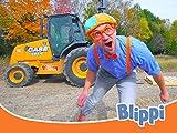 Blippi Explores a Forklift