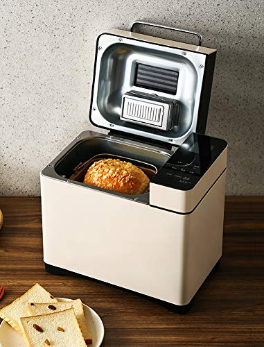 Best Deals! 28-in-1 Automatic Programmable Bread Maker, Bread Machine with Fruit & Nut Dispenser, 3 ...