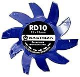 MACROZA Fresa RD10, 25mm x 25mm, para rozadora de pared MACROZA